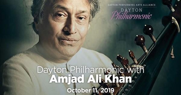Dayton Philharmonic with Amjad Ali Khan