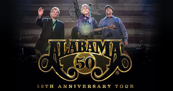Alabama's 50th Anniversary Tour