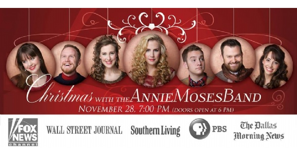 Christmas Grace.Christmas With The Annie Moses Band At First Grace
