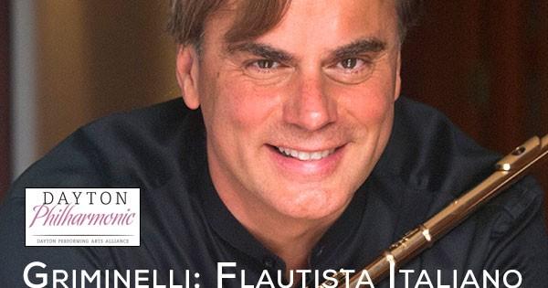 Dayton Philharmonic: Griminelli: Flautista Italiano