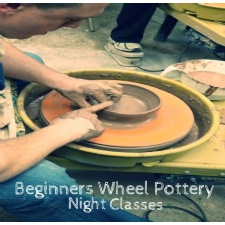 Wheel Pottery 101 for Adults