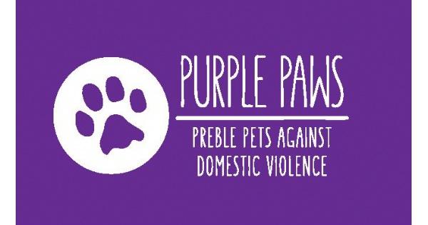 Purple Paws: Preble Pets Against Domestic Violence