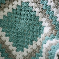 Granny Square Baby Blanket Class