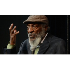 Dick Gregory at Dayton Funny Bone
