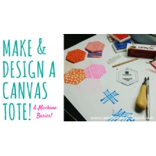 Kids Create - Make and Design a Canvas Tote