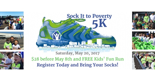 Sock It To Poverty 5K
