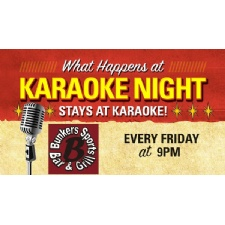Karaoke at Bunker's Sports Bar and Grill