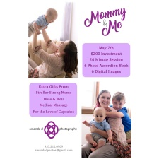 Mommy & Me Portrait Sessions