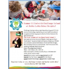 Challenge Island educational enrichment classes at Hobby Lobby Huber Heights