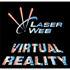 Virtual Reality at Laser Web - suspended