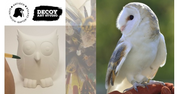 Pottery Painting with Glen Helen Raptor Center