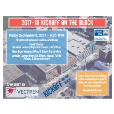 United Way's Kickoff on the Block
