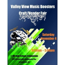 Valley View Music Boosters Craft/Vendor Fair