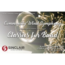 Sinclair Wind Symphony Fall Concert