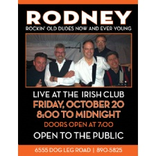 Rodney - Live at the Irish Club of Dayton