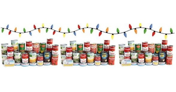 christmas canned food drive 2017