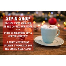 Sip N Shop for the Living Well Clinic