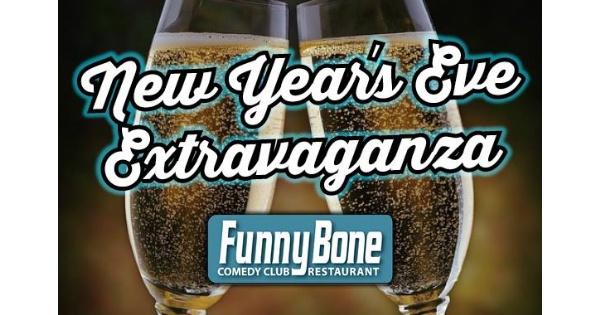 NYE Extravaganza at the Dayton Funny Bone with John Heffron
