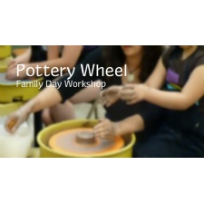 Family Wheel Pottery Workshop