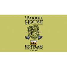 HopSlam Tapping at The Barrel House