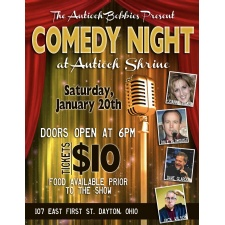 Comedy Night at Antioch Shrine