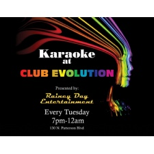 Tuesday Night Karaoke At Club Evolution
