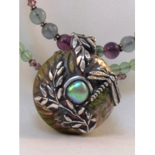 Mixed Media Jewelry: Fine Silver Metal Clay with Glass