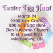 Middletown Easter Egg Hunt at Zion Lutheran Church