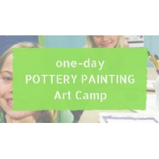 One-Day Pottery Painting Art Camp