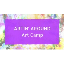 Artin' Around Art Camp