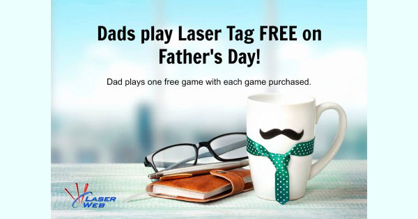 Fathers Day at Laser Web