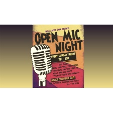 Open Mic Night at Mila's Suburban Cafe