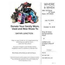 Safari Junction Shoe Drive