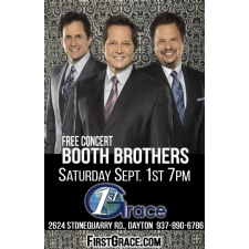 The Booth Brothers In Concert At First Grace