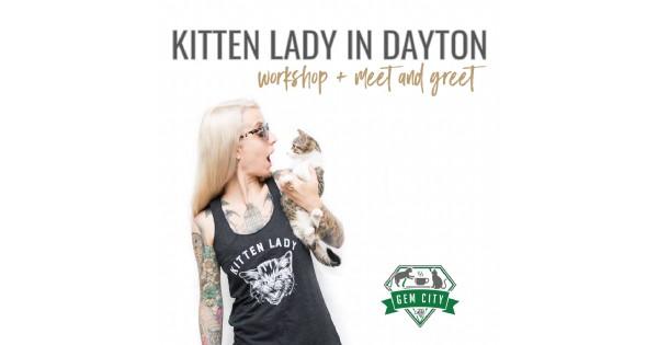 Kitten Lady in Dayton