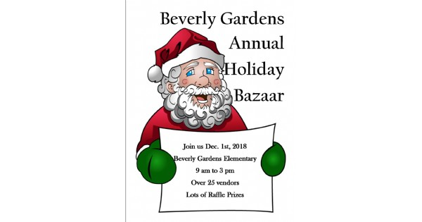 Annual Beverly Gardens Holiday Bazaar