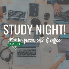 Study Night at the Catfe