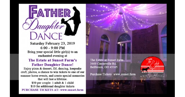 Father-Daughter Dance - The Estate at Sunset Farm