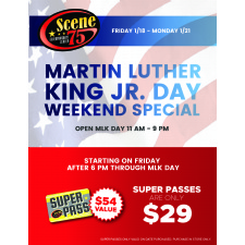 Martin Luther King Jr. Day at Scene75