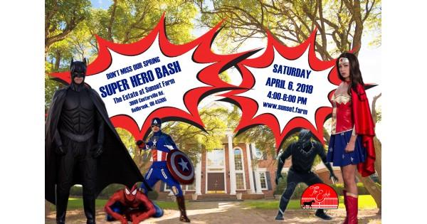 Super Hero Bash at The Estate