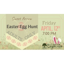 Sweet Arrow Easter Egg Hunt-Adults Only