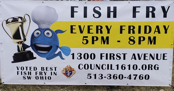 Knights of Columbus Fish Fry - suspended