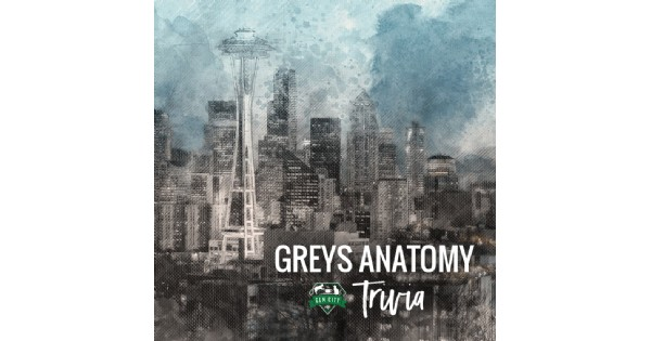 Grey's Anatomy Trivia at the Gem City Catfe
