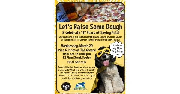Pies&Pints Fundraiser Benefiting the Humane Society of Greater Dayton