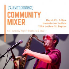 Levitt Community Mixer | March