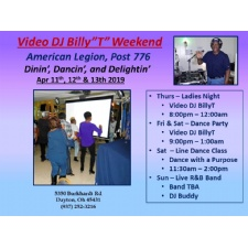 2nd Weekends With Video DJ BillyT