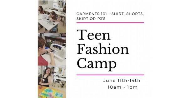 Teen Fashion Camp - Garment Construction