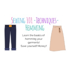 Sewing Basics - Techniques - Hemming