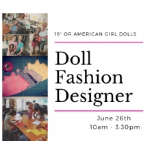Doll Fashion Designer Workshop