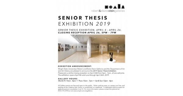 Senior Thesis Exhibition